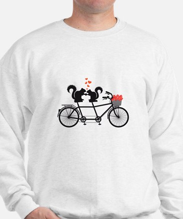 tandem bicycle with squirrels Jumper