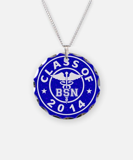Class Of 2014 BSN Necklace
