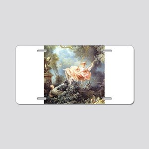 Fragonard - The Swing painting Aluminum License Pl