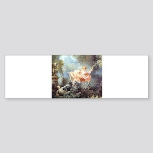 Fragonard - The Swing painting Bumper Sticker