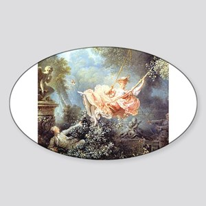 Fragonard - The Swing painting Sticker