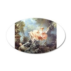 Fragonard - The Swing painting Wall Sticker