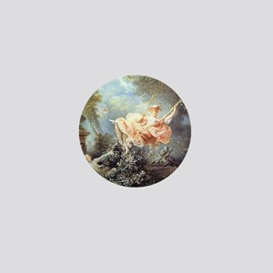 Fragonard - The Swing painting Mini Button