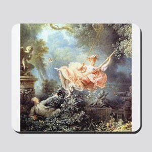 Fragonard - The Swing painting Mousepad