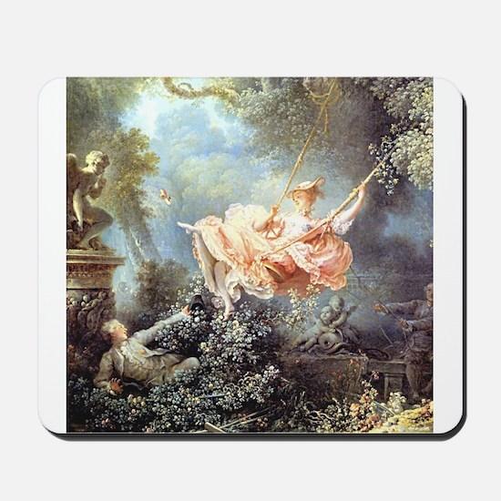 Fragonard - The Swing painting Mousepad