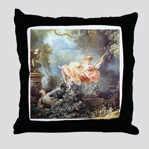 Fragonard - The Swing painting Throw Pillow