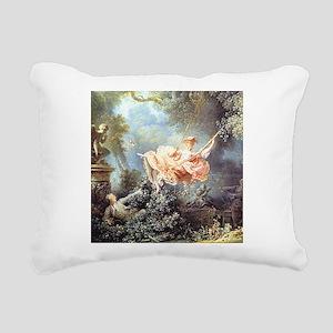 Fragonard - The Swing painting Rectangular Canvas