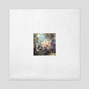Fragonard - The Swing painting Queen Duvet