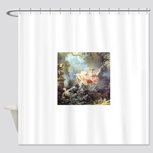 Fragonard - The Swing painting Shower Curtain