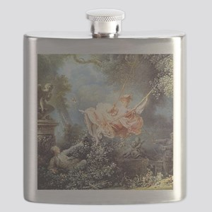 Fragonard - The Swing painting Flask