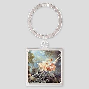 Fragonard - The Swing painting Keychains