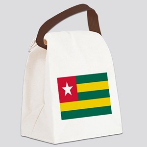 Togolese Flag of Togo Canvas Lunch Bag