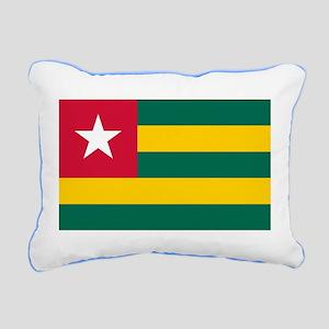 Togolese Flag of Togo Rectangular Canvas Pillow