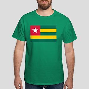 Togolese Flag of Togo Dark T-Shirt