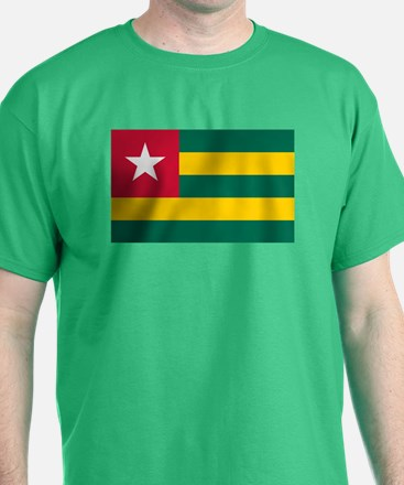 Togolese Flag of Togo T-Shirt