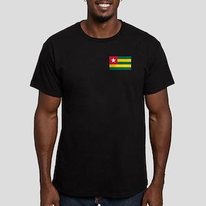 Togolese Flag Of Togo Men's Fitted T-Shirt (da