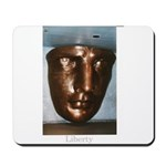 Statue of Liberty Face Mousepad