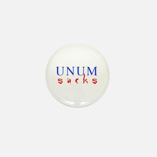 UNUM sucks Mini Button