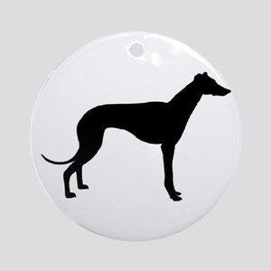 greyhound 2 Ornament (Round)