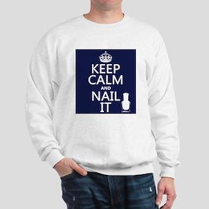 Keep Calm and Nail It Jumper