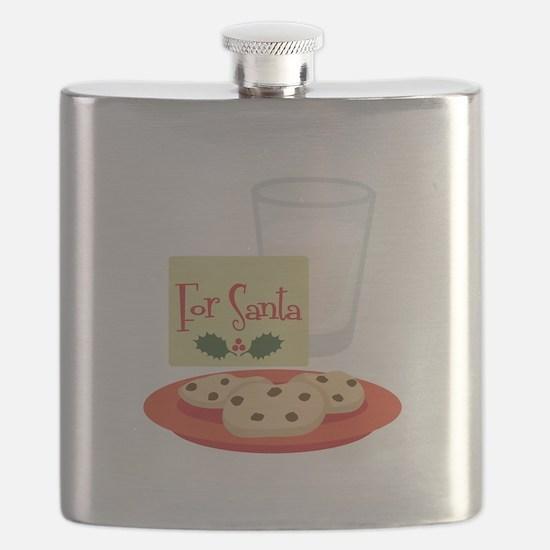 For Santa Flask