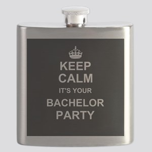 Keep Calm its your Bachelor Party Flask