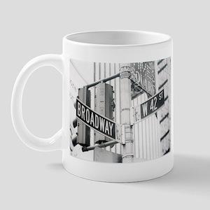 NY Broadway Times Square - Mug