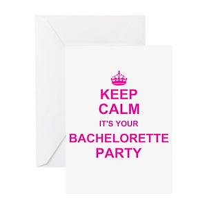 Funny bachelorette greeting cards cafepress m4hsunfo