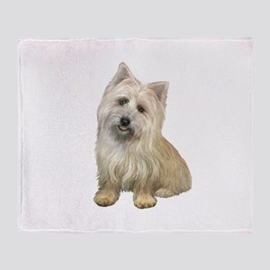 Cairn Terrier (#4B) Throw Blanket