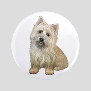 """Cairn Terrier (#4B) 3.5"""" Button"""