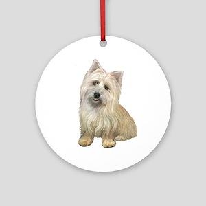 Cairn Terrier (#4B) Ornament (Round)