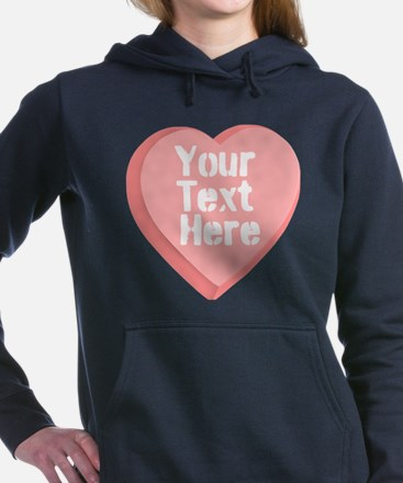 Candy Heart Hooded Sweatshirt