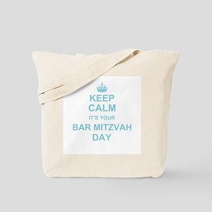 Keep Calm its your Bar Mitzvah Tote Bag