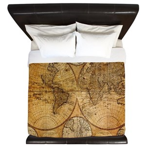 World map bed bath cafepress gumiabroncs Gallery