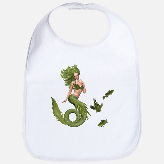 Green Mermaid Bib