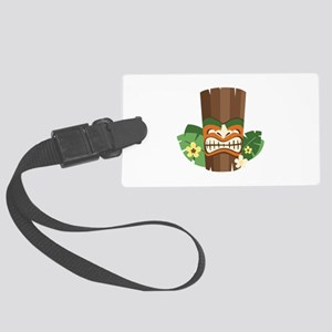 Tiki Mask Luggage Tag