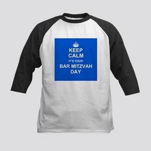 Keep Calm its your Bar Mitzvah day Baseball Jersey