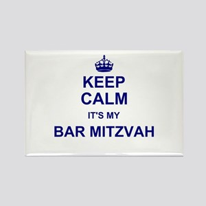 Keep Calm its your Bar Mitzvah day Magnets