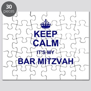 Keep Calm its your Bar Mitzvah day Puzzle