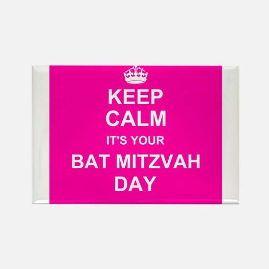 Keep Calm its your Bat Mitzvah day Magnets