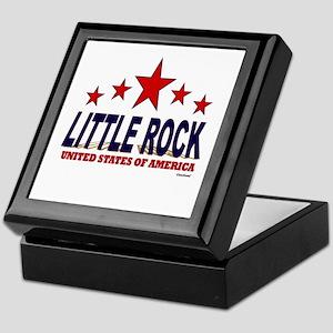 Little Rock U.S.A. Keepsake Box