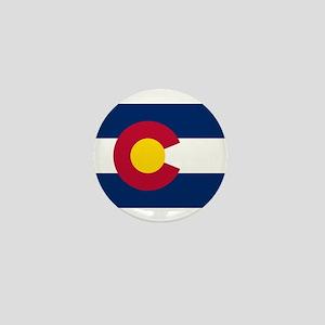 Colorado State Flag Mini Button