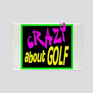 Crazy About Golf Magnets