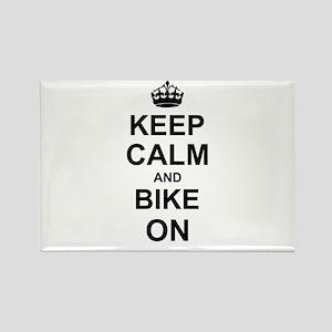 Keep Calm and Bike on Magnets