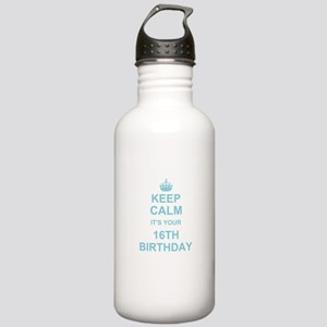 Keep Calm its your 16th Birthday - blue Sports Wat