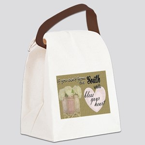 south bless your heart Canvas Lunch Bag