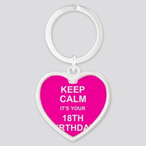 Keep Calm its your 18th Birthday Keychains