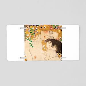 Klimt Mother and Child vintage art Aluminum Licens