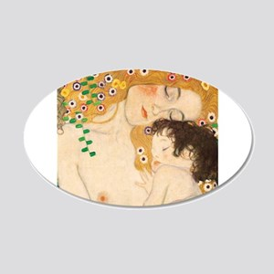 Klimt Mother and Child vintage art Wall Sticker