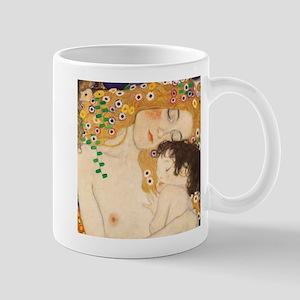 Klimt Mother and Child vintage art Mugs
